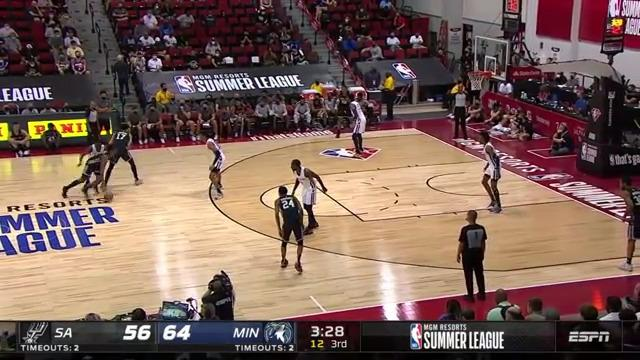 Wooten Goes Up and Swats It