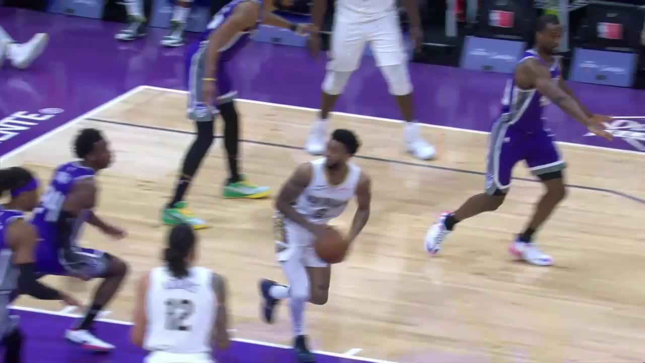 Nickeil-Alexander Walker step back | Pelicans-Kings Highlights