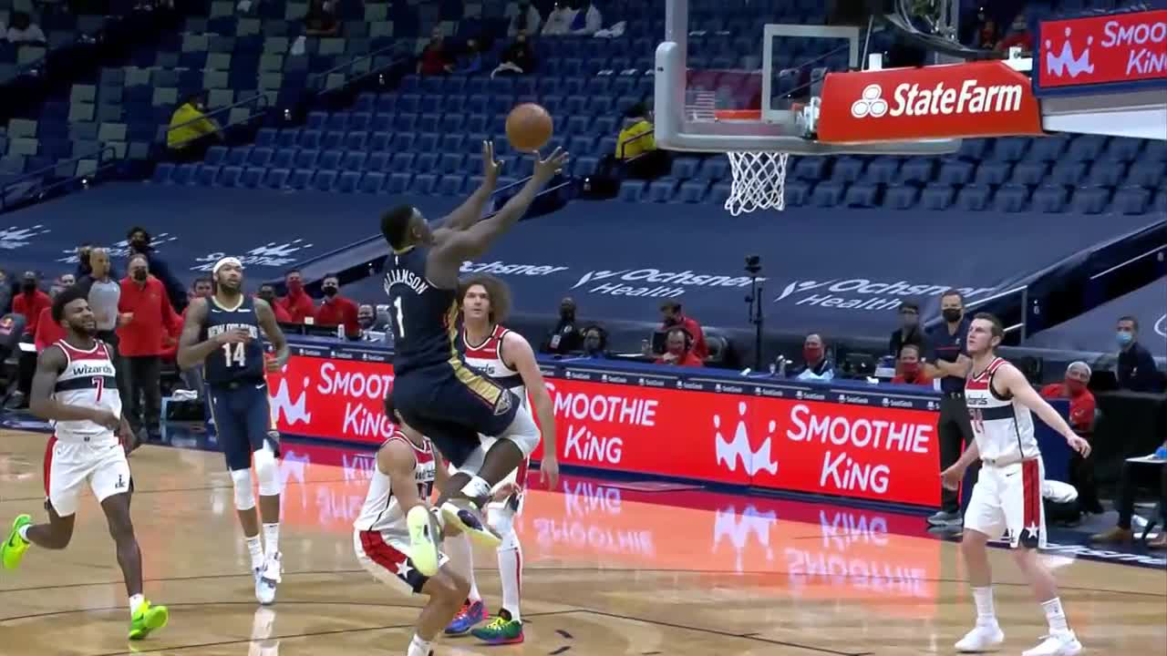 New Orleans Pelicans Highlights vs. Washington Wizards 1-27-21
