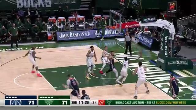 Donte Finds Giannis