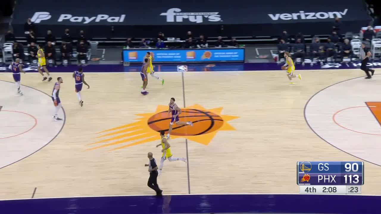Check out this play by Jordan Poole!