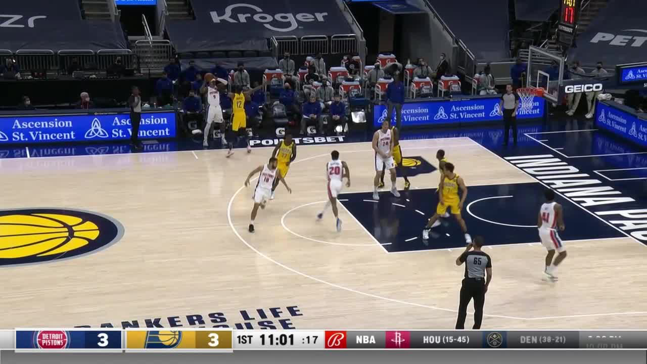 Mason Plumlee Highlights vs. Indiana Pacers