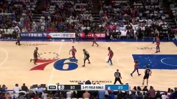 Highlights: KD vs. Sixers   29PTS, 12AST