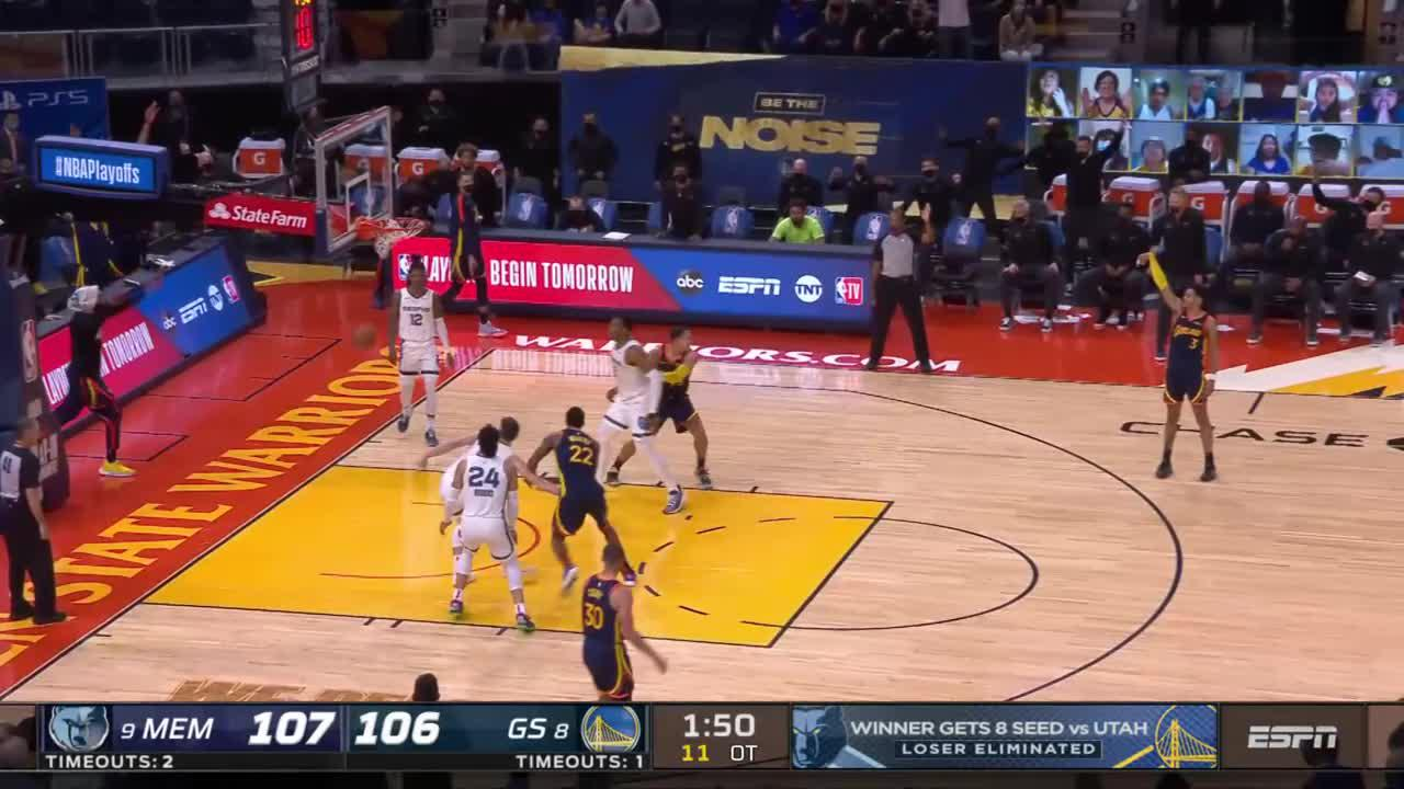 Jordan Poole with the must-see play!