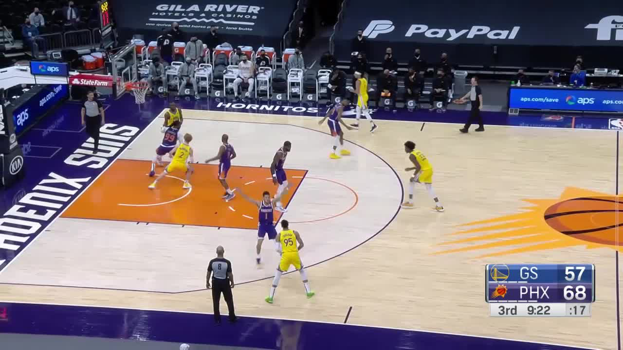 Nico Mannion with the must-see play!