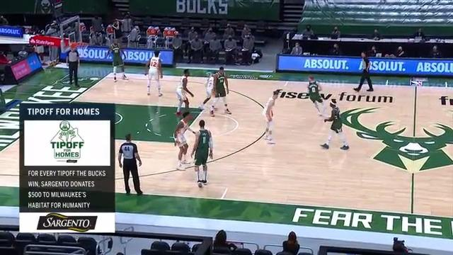 Giannis Starts the Game With A Bang
