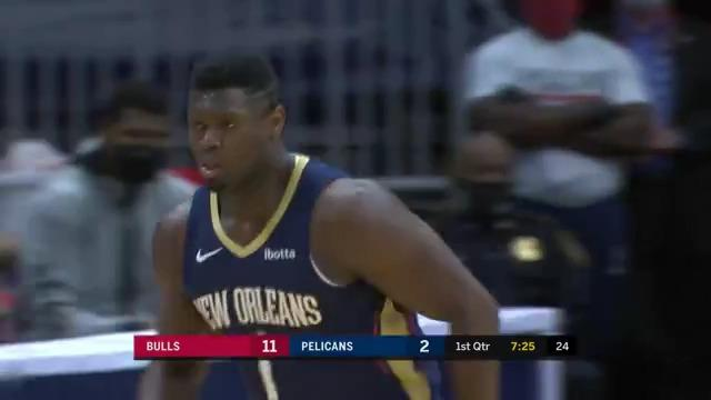 Pelicans 1st Half Highlights vs. Chicago Bulls 3-3-21