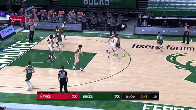 Torrey Scores His First Points As A Buck