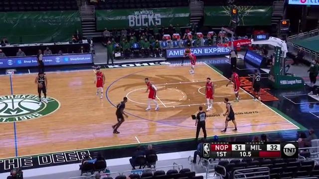 Giannis Buries A Three