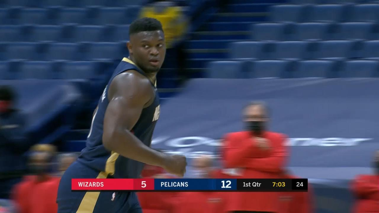 Pelicans 1st quarter highlights vs Washington Wizards 1-27-21