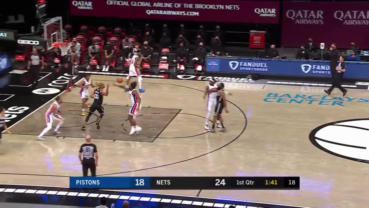 Isaiah Stewart Highlights