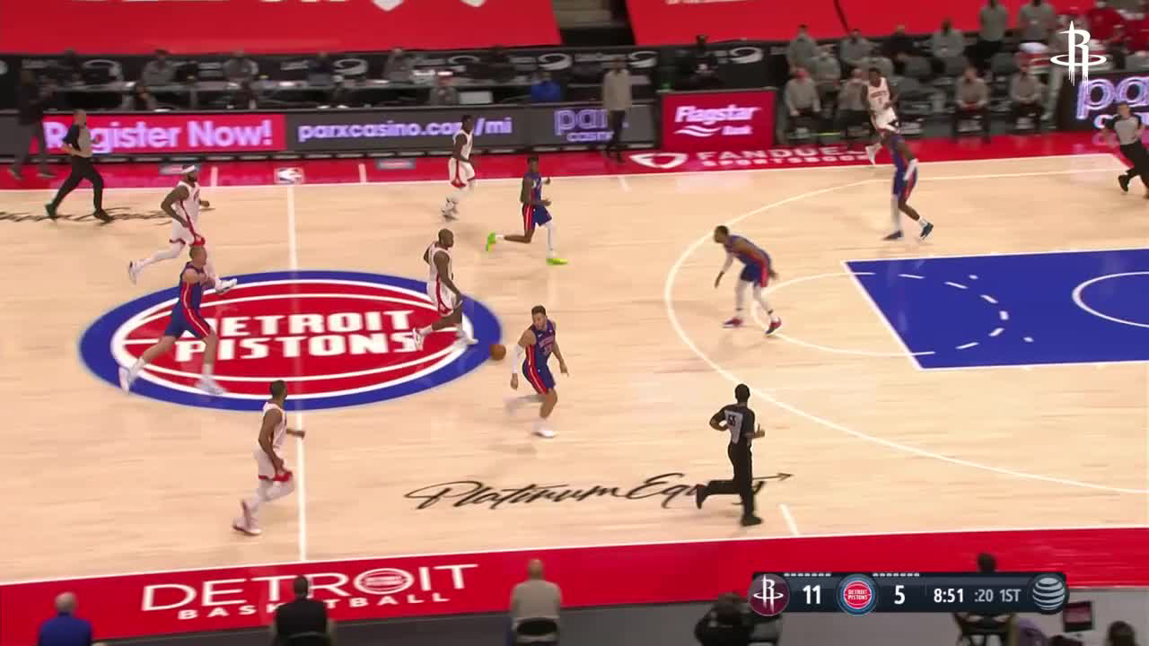Highlights: Gordon with 20pts vs. Pistons