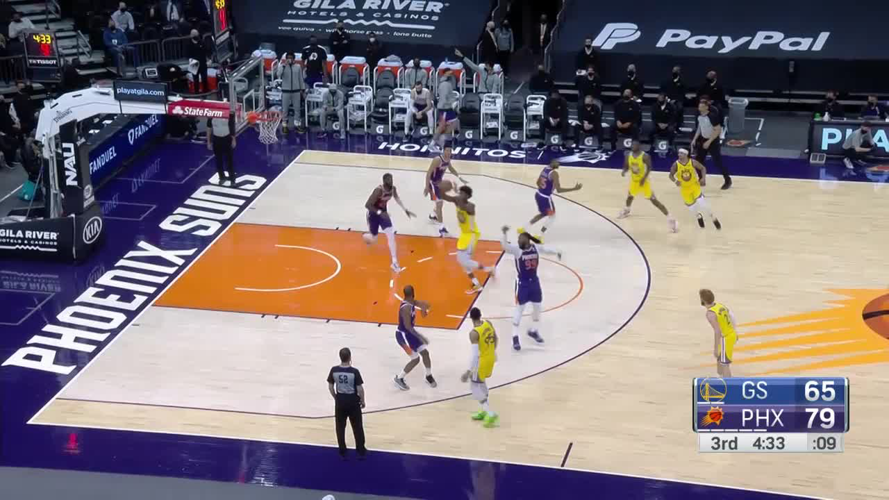 Check out this play by Damion Lee!