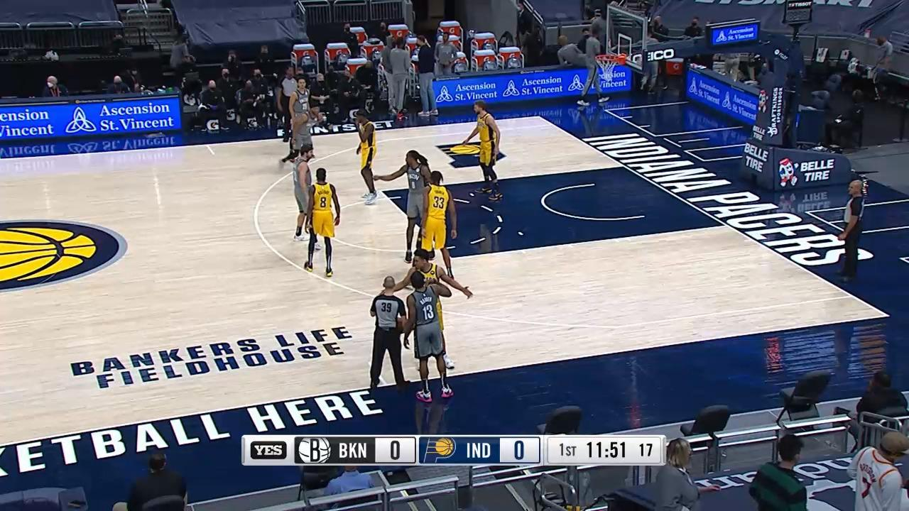Highlights: Nets vs. Pacers