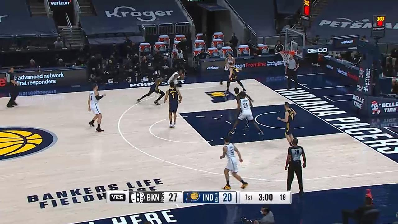 Alize Johnson at Pacers