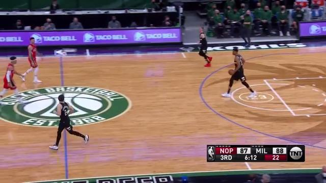 Donte Feeds Giannis