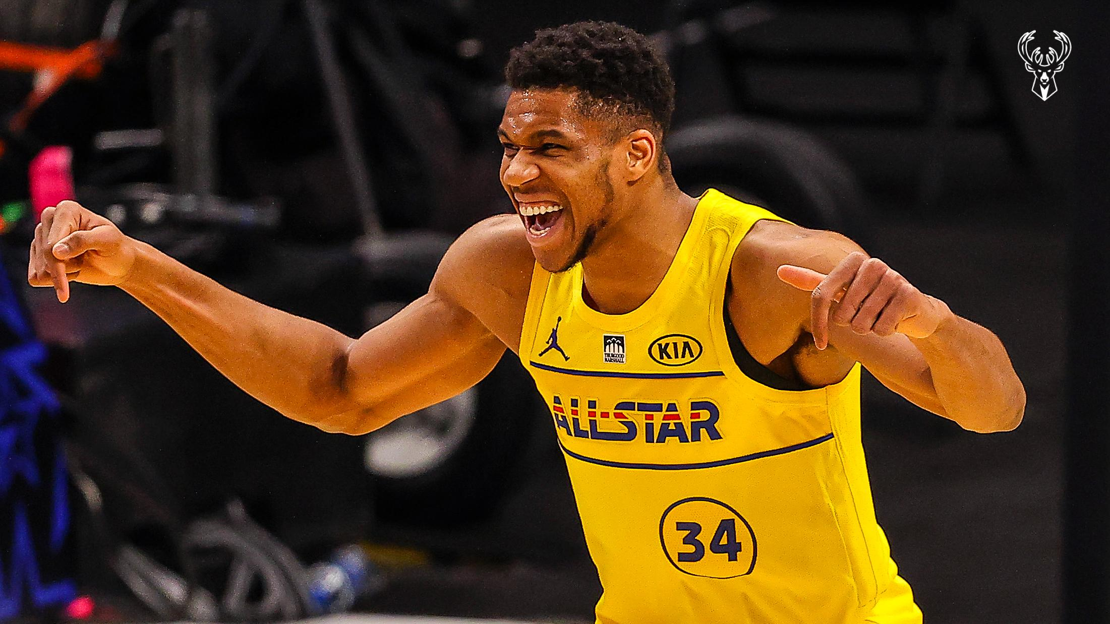 Giannis Antetokounmpo 35 Points   2021 All-Star Game Highlights