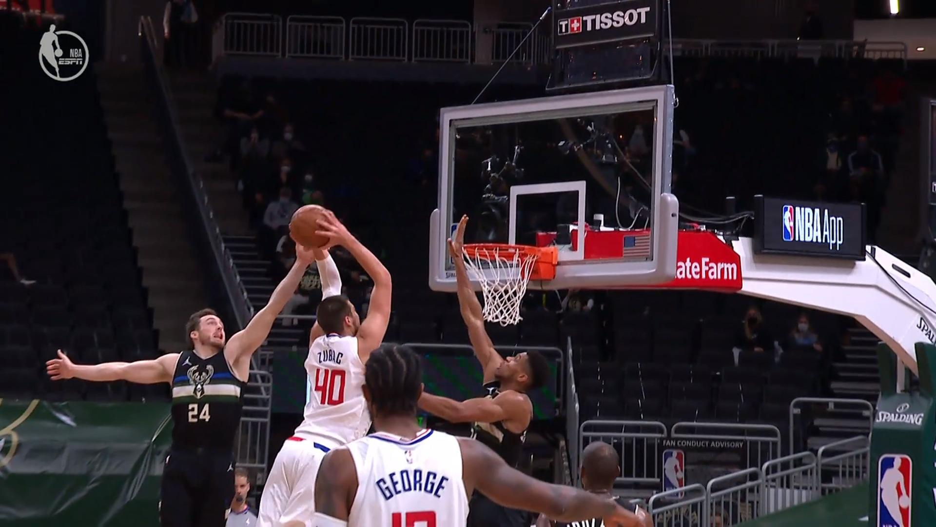 High Energy Highlight: Giannis Denies Zu At The Rim