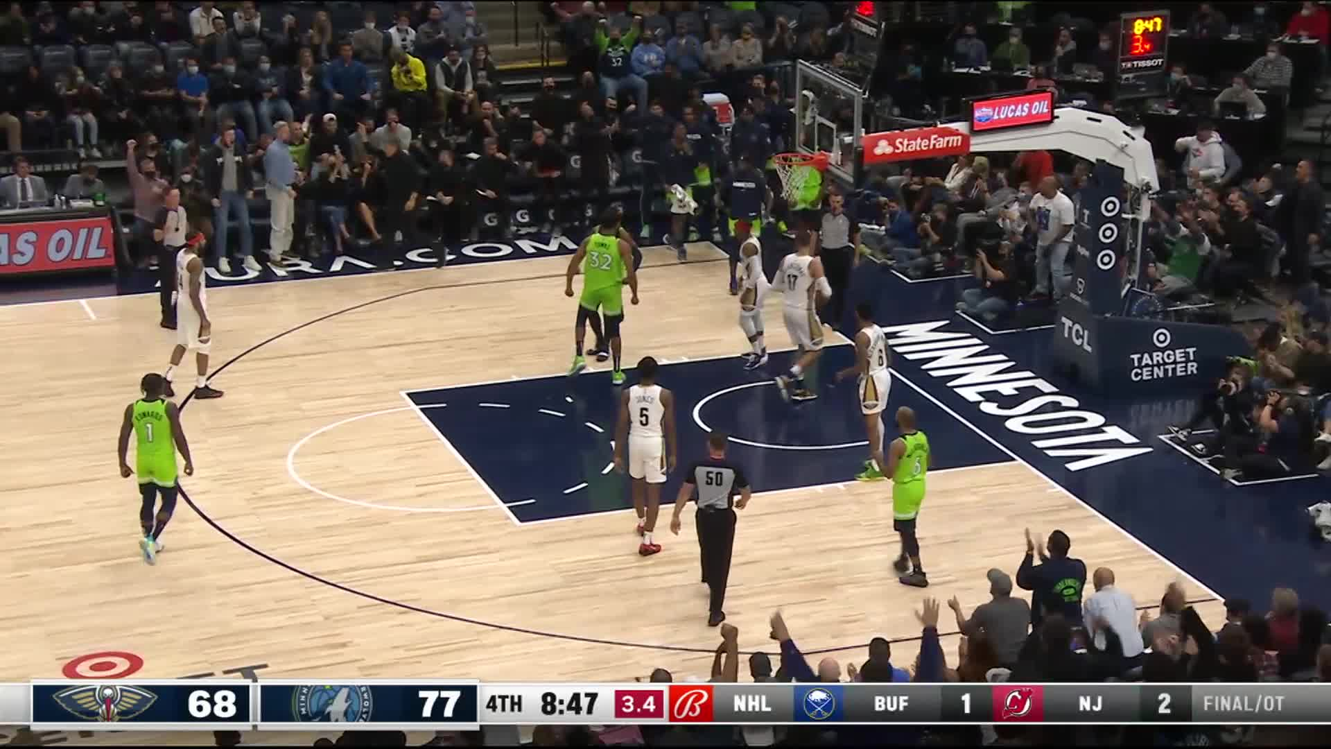 Karl-Anthony Towns (25 points) Highlights vs. New Orleans Pelicans