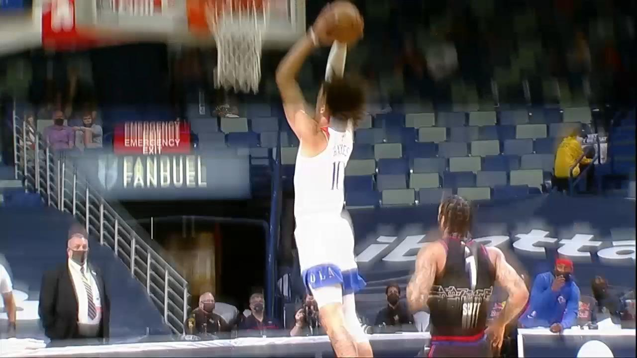 Zion Williamson full court dime to Jaxson Hayes | Pelicans-76ers Highlights