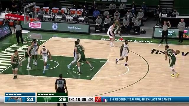 Back-To-Back Threes By Bryn