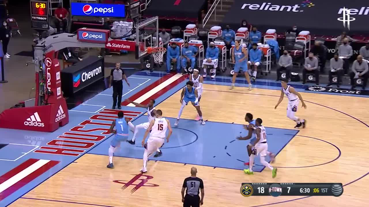 Highlights: Tate with 21pts vs. Nuggets