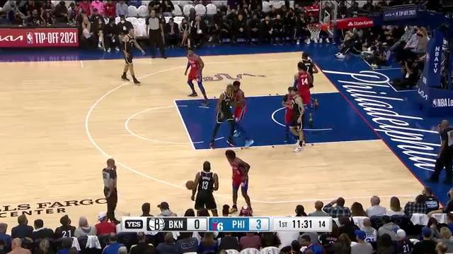 Highlights: Nets vs. SIxers