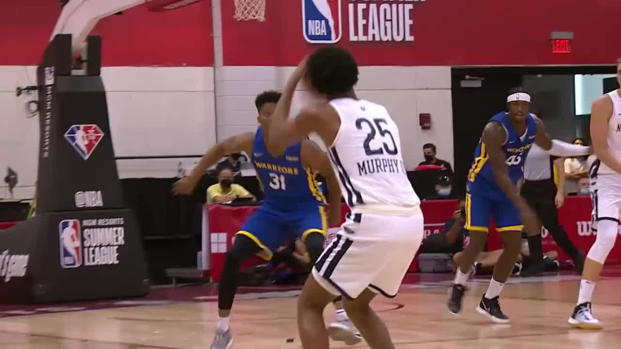 Trey Murphy with 10 Points in the 1st Quarter vs. Golden State Warriors