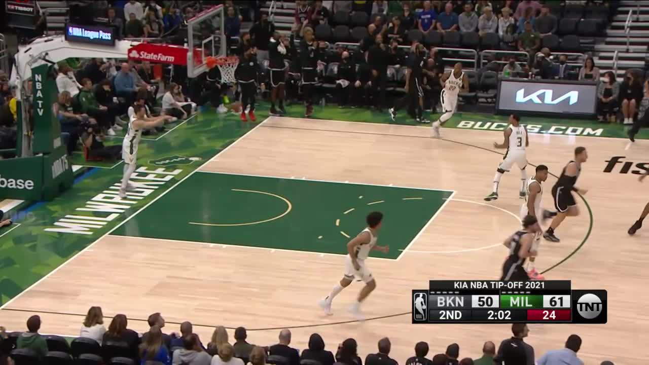 Nets Make A Run in the Second