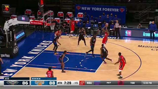 Brandon Ingram shows off mid-range game | Pelicans-Knicks Highlights